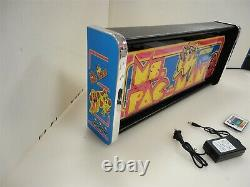 Ms Pacman Marquee Game/Rec Room LED Display light box