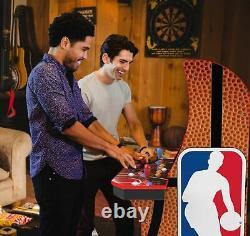 NBA Jam Classic Arcade Machine with Multiplayer WiFi, Retro Man Cave Home Game Room