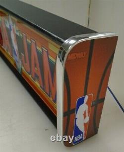 NBA Jam Marquee Game/Rec Room LED Display light box