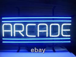 New Arcade Atari Game Room Beer Light Neon Sign 17x8