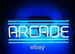 New Arcade Décor Beer Pub Acrylic Neon Light Sign Lamp 17 Game Room Glass