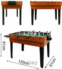 OPEN BOX Arcade Table Air Hockey Foosball Ping Pong Billiards Game Room 4ft