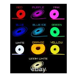 Pac Man Sign LED Neon Ghost Light Vintage Arcade Gaming Room Light-Up Wall Decor