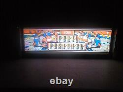 Pole Position Marquee Game/Rec Room LED Display light box