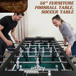 Pro Foosball Table Men 56 Soccer Balls Home Game Room Arcade Indoor Sports Gift