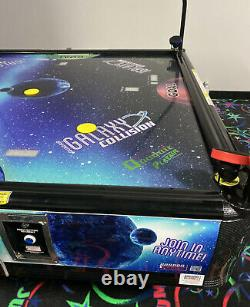 Quadair 4-Way Air Hockey with LED Topper by Barron Games