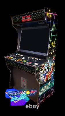 Rec Room World 32 CLASSIC UPRIGHT ARCADE HyperSpin MULTICADE Best Options