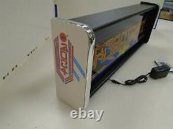 Robotron Marquee Game/Rec Room LED Display light box