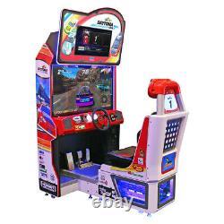 SEGA Daytona Championship USA Racing Arcade Game with 4-Way Shifter