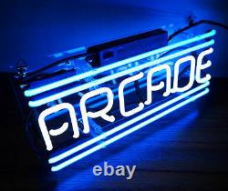 SS001 ARCADE Game Room Beer Bar Decor Real Neon Light Sign 12x5 New Wii PS