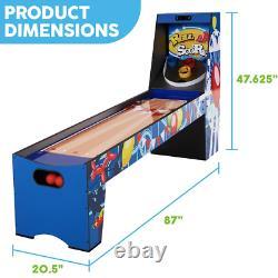Skeeball Arcade Game Machine Large Kids Adults Indoor Outdoor Basement Room Fun