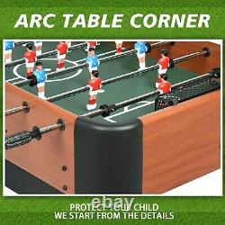 Soccer Foosball Table Football Indoor Game Room 47 2 Player Competition Arcade