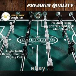 Soccer Foosball Table Football Indoor Game Room 56 4 Player Arcade Furniture