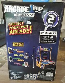 Space Invaders Counter Arcade Machine Arcade1UP Indoor Video Gaming Game Room