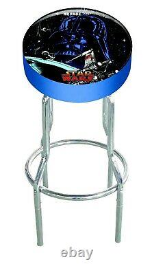 Star Wars Arcade 1up OFFICIAL Game Room Custom Stool Play Seat Gameplay Stools