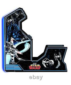 Star Wars Home Arcade Machine, Man Cave Game Room 3 in 1 Classic Video Games New