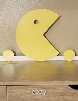 Super Size desk top Arcade Pac Man lighted LED sign Game room, Retro