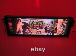 Teenage Mutant Ninja Turtles Marquee Game/Rec Room LED Display light box