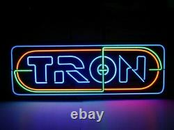 Tron Game Room Arcade Jukeboxes Real Neon Sign Beer Bar Home Wall Decor Gift