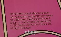 Vintage 1991 Spider Man Marquee Game Backing Rec Room Display Marvel Arcade Sega