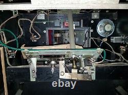 Vintage Chicago Coin Op EM Speed Way Arcade Game For Parts or Restoration