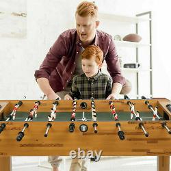 48in Compétition Sized Foosball Table Arcade Soccer Table Pour Salle De Jeu Avec 2ball