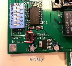 6way, 6in1 Jamma Arcade Switcher, Pas De Télécommandes Nécessaires, Conçu Par Riddledtv
