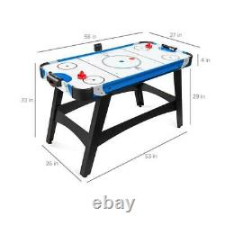 Air Hockey Table Kids Games For Adults And Family Electronic Arcade Game Room
