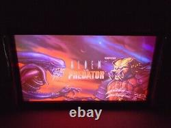 Alien Vs Predator Marquee Jeu / Rec Room Led Display Boîte Lumineuse