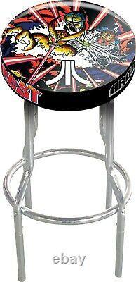 Arcade 1up Salle De Jeu Tabouret Personnalisé Play Seat 2 Pack Gameplay Tabourets Réglables
