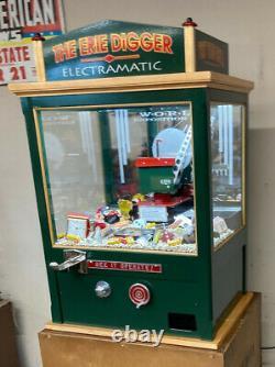 Arcade, Carnival Crane Digger Machine Pour Chambre D'home. Unique - Garantie