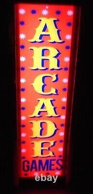Arcade Games Marquee Game/rec Room Led Display Light Box