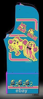 Arcade Machine Mme Pacman Avec Riser Maison Famille Vidéo Salle De Jeu Fun Play