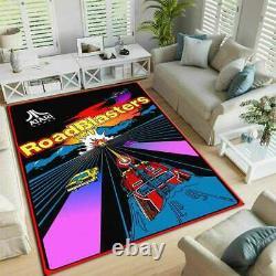 Arcade Roadblasters Atari Retro Zone De Jeu Rug Salle De Jeu Rug Plancher Décoratif