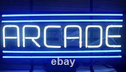 Arcade Salle De Jeu 14x10 Neon Enseigne Lampe Barre De Bière Légère Avec Variateur