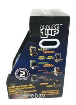 Arcade1up Galaga Galaxian Personal Counter-cade Arcade Machine Game Room Mancave
