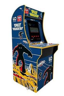 Arcade1up Space Invaders 4ft Video Video Arcade 1up Salle De Jeu De Jeu 17 LCD