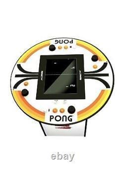 Atari Pong Pub Table Arcade 1up 8 Jeux Dans Une Salle De Jeux D'arcade Classique
