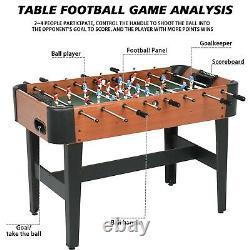 Barrington Foosball Table Football Arcade 4 Joueur Salle De Jeu Intérieur