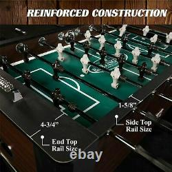 Barrington Foosball Table Soccer Football Arcade 4 Joueur Salle De Jeux Intérieure 56