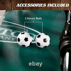 Barrington Foosball Table Soccer Football Arcade 4 Player Indoor Game Room 56 À