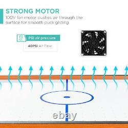 Best Choice Products 40in Air Hockey Arcade Table For Game Room, Salon Avec