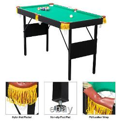 Billard De Table De Billard Pliant Accueil Enfants Jeux De Famille Chambre De Nuit Fun Arcade Play 47