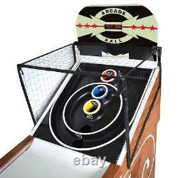 Boardwalk 8 Pieds Arcade Ball Table Pour Les Chambres De Jeux De Famille Avec Éclairage De Piste Led