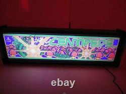 Centipede Marquee Game/rec Room Led Display Light Box