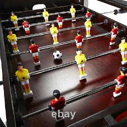 Foosball Bois Table Basse Salle De Jeux D'arcade En Bois Family Fun Play Sport Accueil