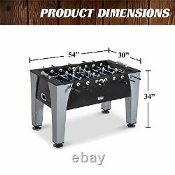 Foosball Soccer Table 54 Competition Sized Arcade Game Room Indoor Sport Hockey