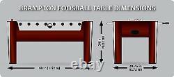 Foosball Soccer Table 60 Compétition Taille Arcade Salle De Jeu Hockey Fooseball