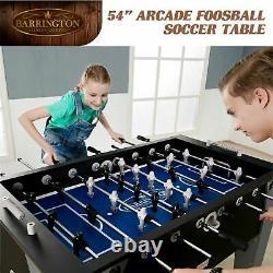 Foosball Soccer Table Arcade Accessoires Inclus Salle De Jeu Jouer À La Maison Fun 54