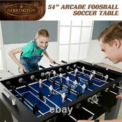 Foosball Soccer Table Game Room Playtime Fun Accessoires Inclus 54 Arcade